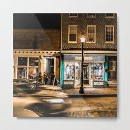 Street night Metal Print