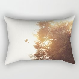Nuevo amanecer Rectangular Pillow