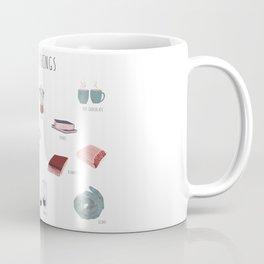 Cozy winter things Coffee Mug
