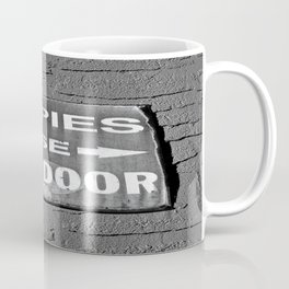 Hippies Use Side Door Coffee Mug