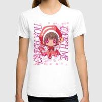 chibi T-shirts featuring Chibi Sakura by Neo Crystal Tokyo