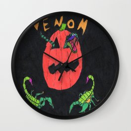 """Venom"" Wall Clock"