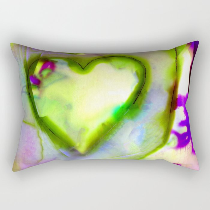 Heart Dreams 4L by Kathy Morton Stanion Rectangular Pillow