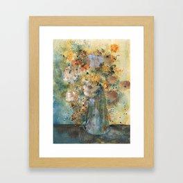 golden time Framed Art Print