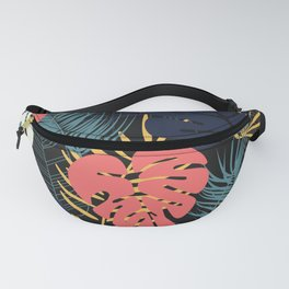 Tropical pattern 048 Fanny Pack