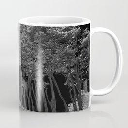 Infrared Monterey Cypress (Cupressus macrocarpa) in California on Pacific Coast Highway Coffee Mug