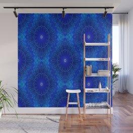 Les fleurs sont bleues Wall Mural