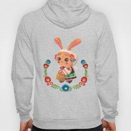 The Cute Bunny in Polish Costume Hoody