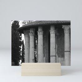 Temple of Vesta Rome Italy Mini Art Print