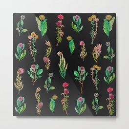 cute garden at nigth Metal Print