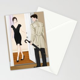 the steaks are at stake Stationery Cards