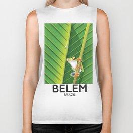 Belem Brazil travel poster Biker Tank