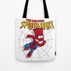Spiderbart: the Simpsons superheroes (Bart Simpson meets spider-man)  Tote Bag