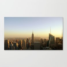 New York Skyline @ Dusk with Empire State Building Canvas Print