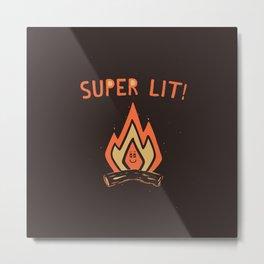 SUPER L/T! Metal Print