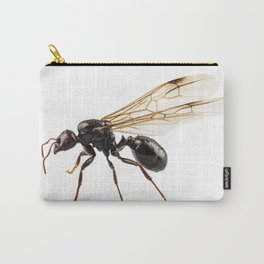 Black Winged garden ant species lasius niger Carry-All Pouch