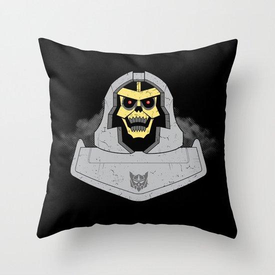 Skeletron Throw Pillow