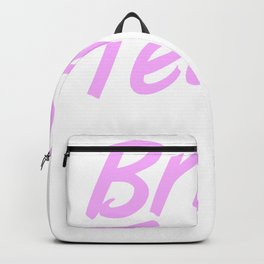 Bride's Team Funny Bachelorette Party Hen Girls Backpack