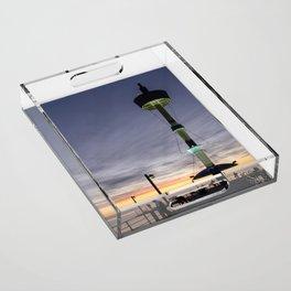 Brighton Sunset Acrylic Tray