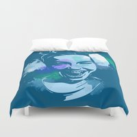 bjork Duvet Covers featuring Bjork by BIG Colours
