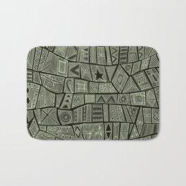 ESHE charcoal mono Bath Mat