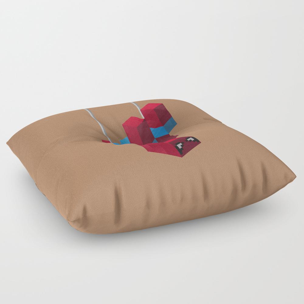 Sensational Spider Man Square Floor Pillow by Joshbelden FPL932876