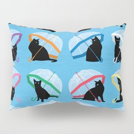 raining cats 'n cats Pillow Sham