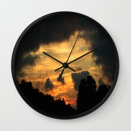 Painted by Nature Wall Clock