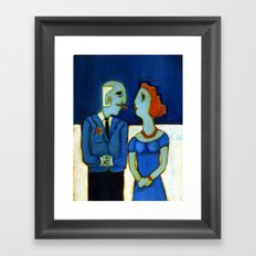 power of seduction Framed Art Print