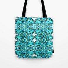 Funky Blues Tote Bag