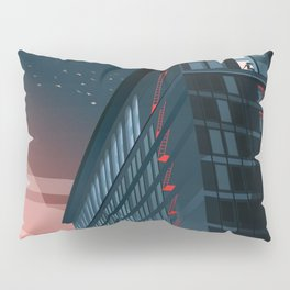 Looking Out of the Window Into the Night Sky Pillow Sham