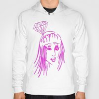 nicki Hoodies featuring cronart by cronart