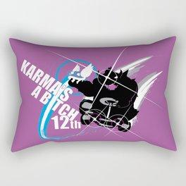 Karma's a B*tch Rectangular Pillow