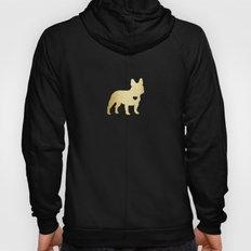 French Bulldog Gold Hoody
