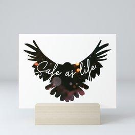 Raven Cycle Safe As Life Mini Art Print