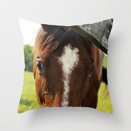 The Horse Throw Pillow