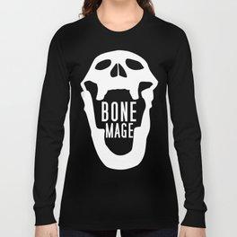 Bone Mage Skull  Long Sleeve T-shirt