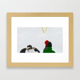 The Rescue II Framed Art Print