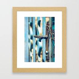 Open the door to your Dreams Framed Art Print