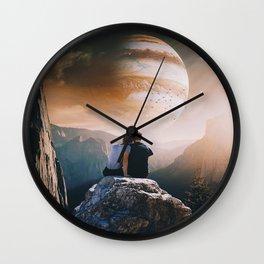 A Weird Planet Wall Clock