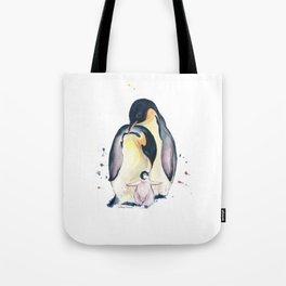 Penguins Family Tote Bag