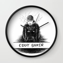 Eddy Baker Wall Clock