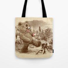 Teddy's Back! Tote Bag