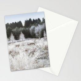 Along the Frosty Path - II Stationery Cards