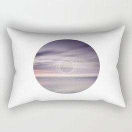 Where the sky touches the sea Rectangular Pillow