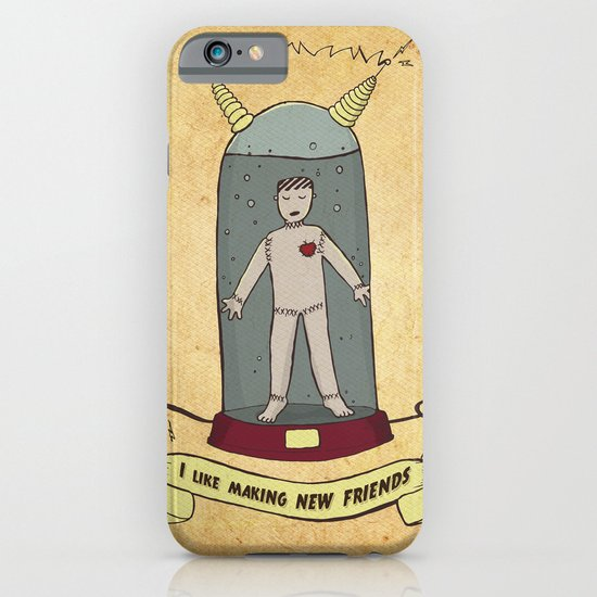 Frankiee iPhone & iPod Case