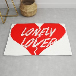Lonely Lover Rug