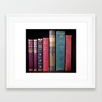 library Framed Art Prints featuring library by Liudvika's Lens