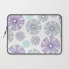 white sea urchin Laptop Sleeve