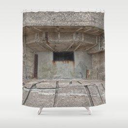 Jersey War Bunker Shower Curtain